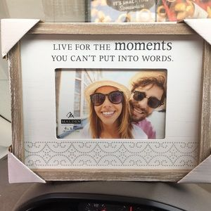 4x6 wooden picture frame.
